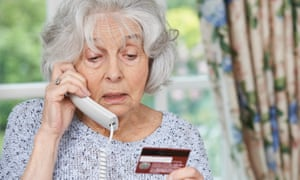 Beware all calls asking for money or personal details ... simply hang up.
