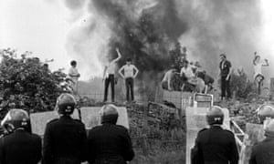 May last act as home secretary was to kick into the long grass a possible inquiry into the 1984 'battle of Orgreave'.