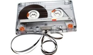 Sales of music cassettes rose 125% in 2018.