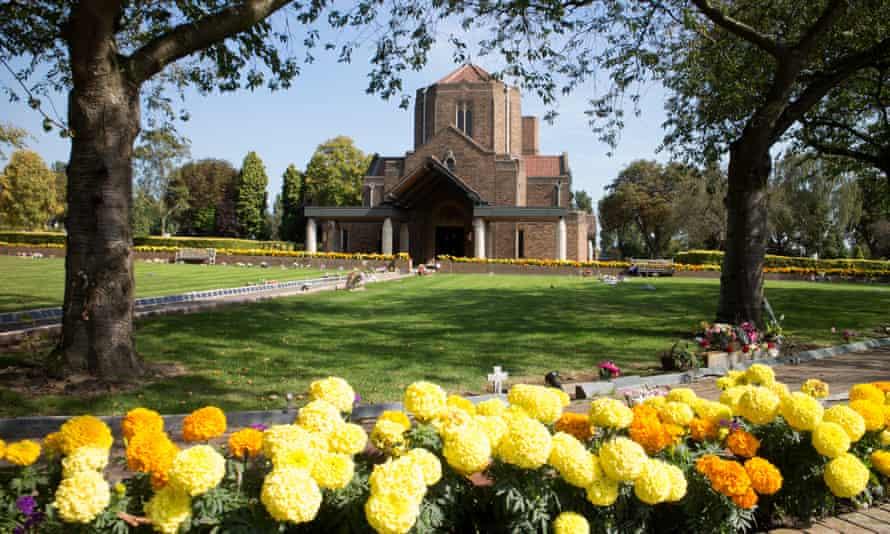 Yardley crematorium in Birmingham.