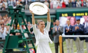 Wimbledon made a record surplus of over £50m last year, when Simona Halep won the women's singles title.