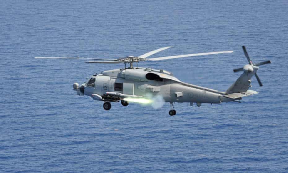 The Australian navy's MH-60R Seahawk fleet
