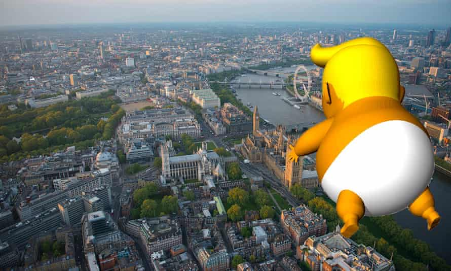 The Trump Baby Blimp kickstarter