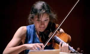 Janine Jansen, who played Shostakovich's Second Violin Concerto.