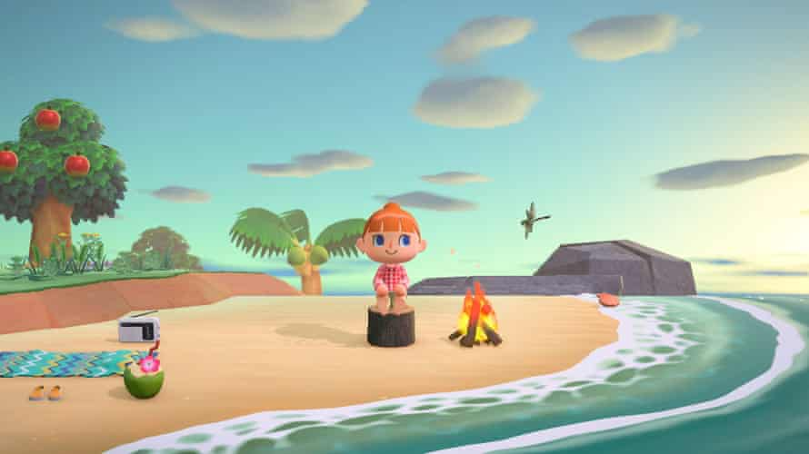 A screenshot from Animal Crossing