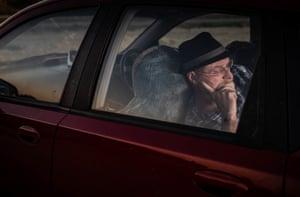 Peter Cooney sometimes sleeps in his car.