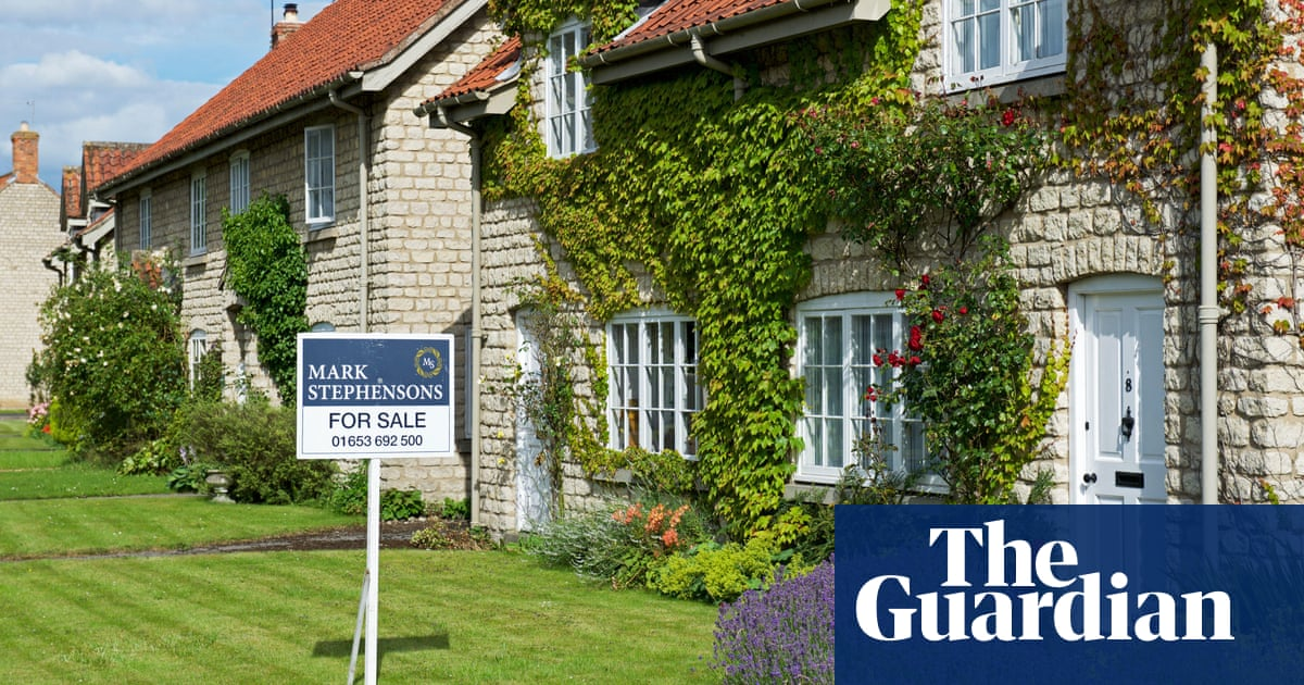 Value of UK house sales forecast to leap 46% this year as boom continues