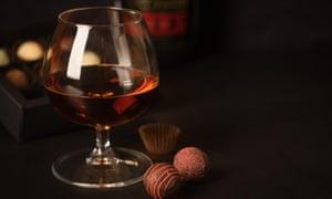 Brandy and chocolates