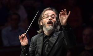 Welcome return … the BBC SSO's guest conductor Ilan Volkov.