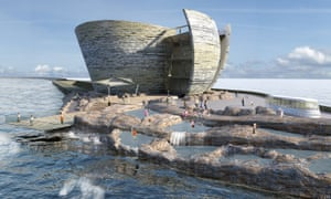 A visitor centre would also be built