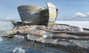 How the Swansea Bay visitor centre might look.