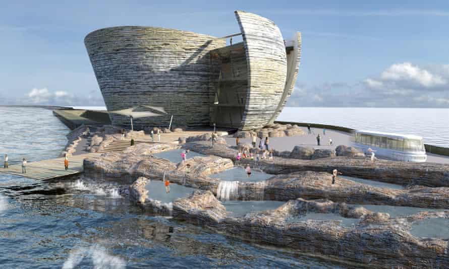 Tidal Lagoon Swansea Bay visitor centre