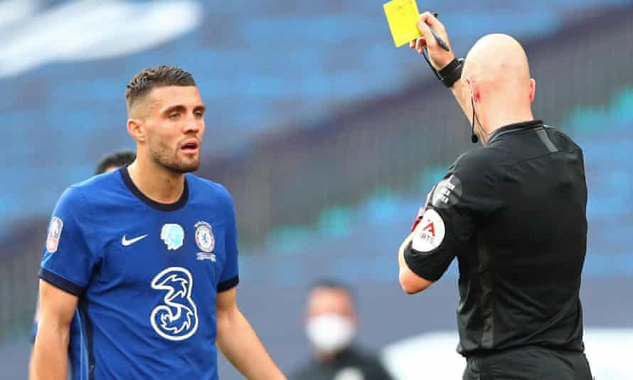 Mateo Kovacic was perhaps unlucky to receive a second yellow card.