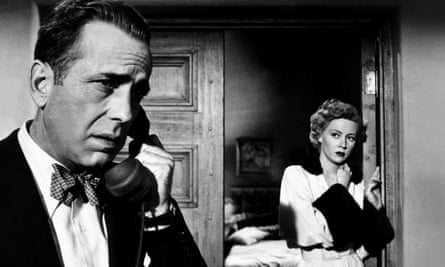 Crystalline beauty … Grahame with Humphrey Bogart in the 1950 film In a Lonely Place.