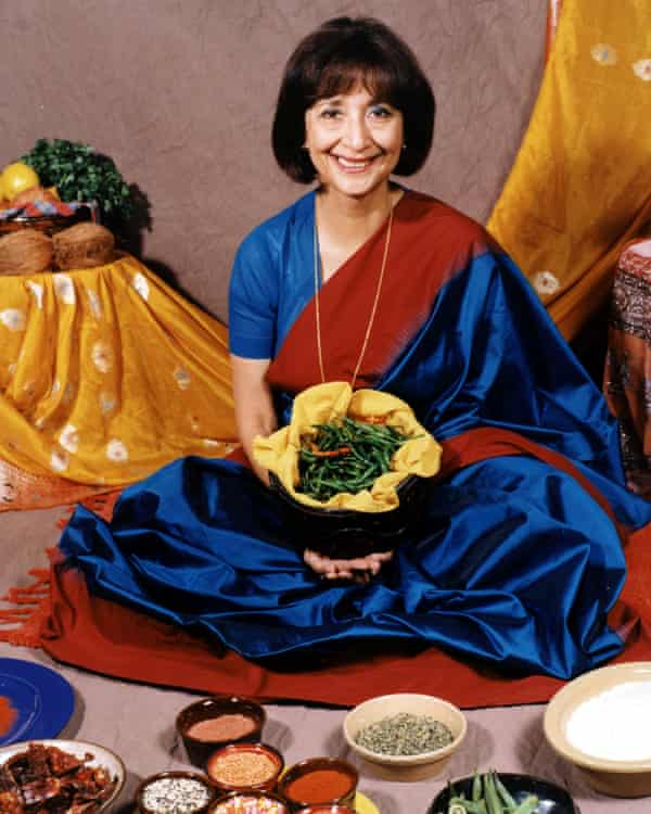 Madhur Jaffrey on the BBC's Flavours of India: 'Calm, dignified and utterly no-nonsense.'