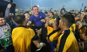 Gheorghe Hagi: 'I took a lot of risks because of the passion