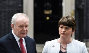 The resignation of Martin McGuinness as Northern Ireland's deputy first minister automatically removed Arelene from her position of first minister.