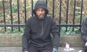 Obi Ojang has been homeless since he came out of prison in January.