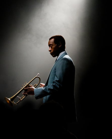 Leading character … Don Cheadle as Miles Davis in Miles Ahead, 2016.