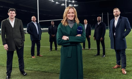 Amazon Prime's coverage of the Autumn Nations Cup will be hosted by Gabby Logan and Mark Durden-Smith