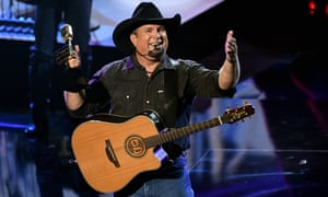 Garth Brooks performs onstage at the 2020 Billboard Music Awards