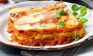 A roasted butternut squash lasagne