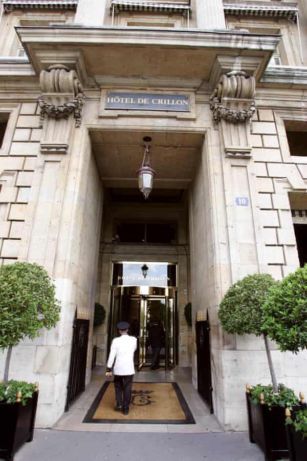 Hôtel de Crillon in Paris