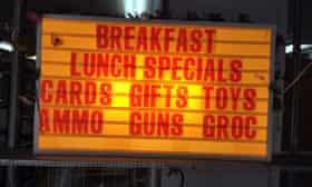 Crawfords restaurant, Boonsboro.