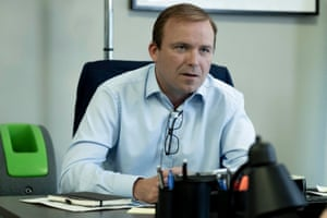 Rory Kinnear as Craig Oliver in Brexit: The Uncivil War.
