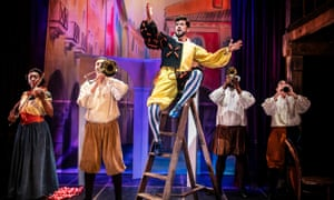 Kiss Me, Kate at the Watermill Theatre.
