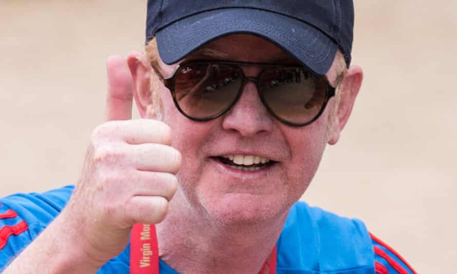 Top Gear's Chris Evans: running the gauntlet of attacks by the Sun.