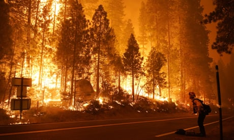 California wildfires – in pictures