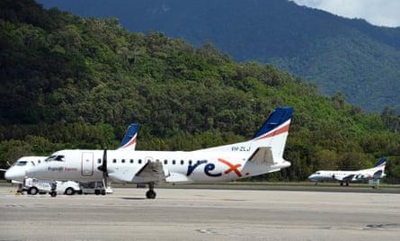 Regional Express Airlines passenger planes.
