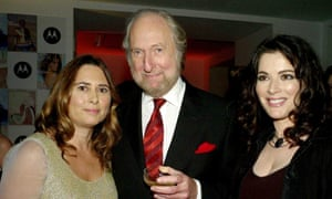 Alexandra Shulman, left, former editor of British Vogue, with Ed Victor and Nigella Lawson at Vogue's 90th anniversary party in 2006.