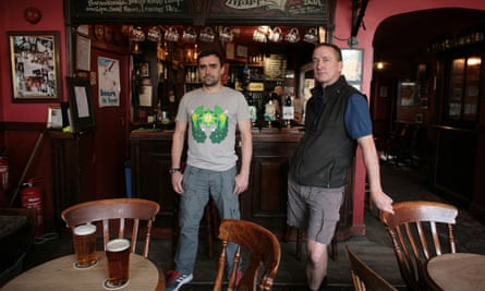 David Law and Simon Clarke of the Eagle Ale House