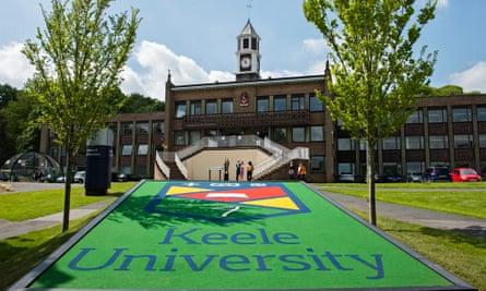 Keele University.