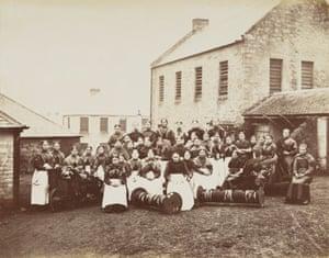 Roslin factory girls, 1879-1880
