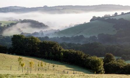 The Teign Valley, Devon.