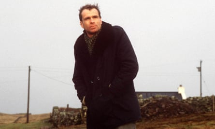 'Being completely isolated, you learn to be robust' … in the early 90s, Hughes, then 35, was living on Shetland.