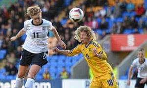 England's Natasha Dowie