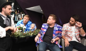 James Cordon dons an OppoSuits jacket