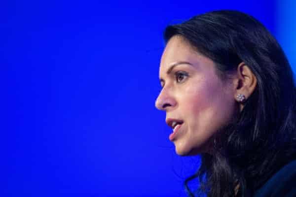 Priti Patel, the home secretary