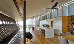 The interior of Spinnaker House by Sparks Architects