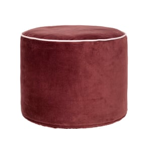 Zsa Zsa pouffe from perch and parrow