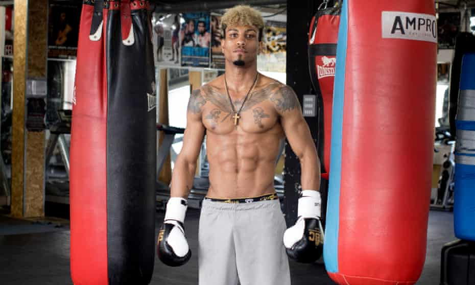 Kelvin Bilal Fawaz at the Stonebridge Boxing Gym in north London.