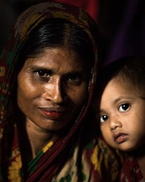 Monowara Begum, from Dhonia.