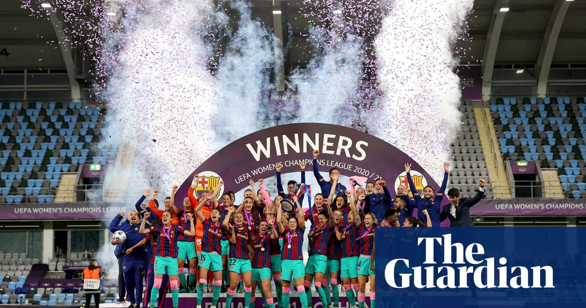 Barcelona stun Chelsea with early blitz to win Women's Champions League