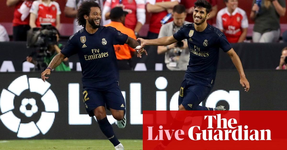 Real Madrid 2-2 Arsenal (aet