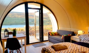 The new CroPod retreat in Donegal, by Under the Thatch.
