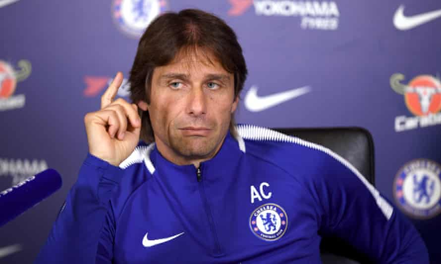 Antonio Conte was sacked by Chelsea in July 2018.